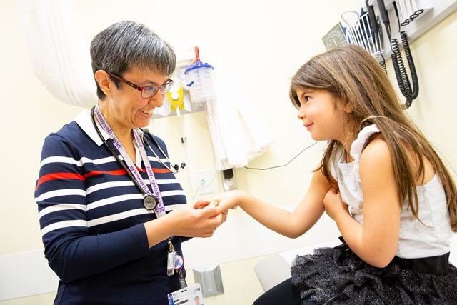 Dr. Rosie Scuccimarri et Emersyn Shragie