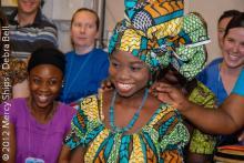 Cérémonie de la robe sur l'Africa Mercy au Togo, 2012.