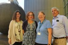(l. to r.) Dr. Aisling O'Gorman, Sue Gennerelli, Dr. Margaret Berry, and Dr. Gary Pekeles (absent from photo: Dr. Kent Saylor)